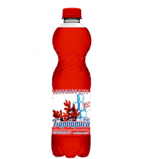 """Напиток безалкогольный сильногазированный Барбарис """"Lemonade city"""", 1,5 л"""
