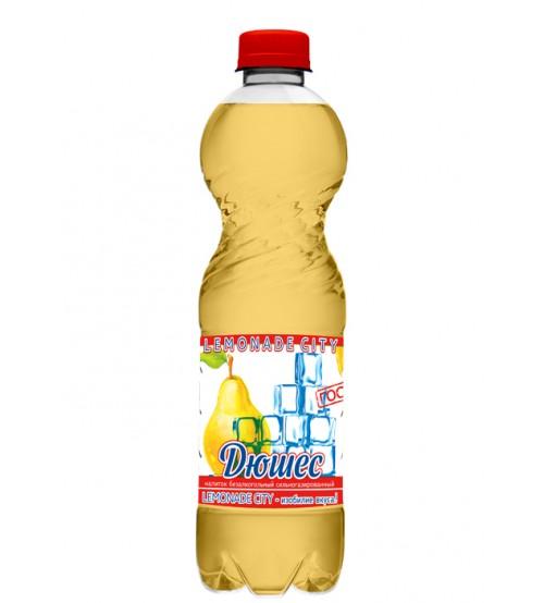 """Напиток безалкогольный сильногазированный Дюшес """"Lemonade city"""", 1,5 л"""