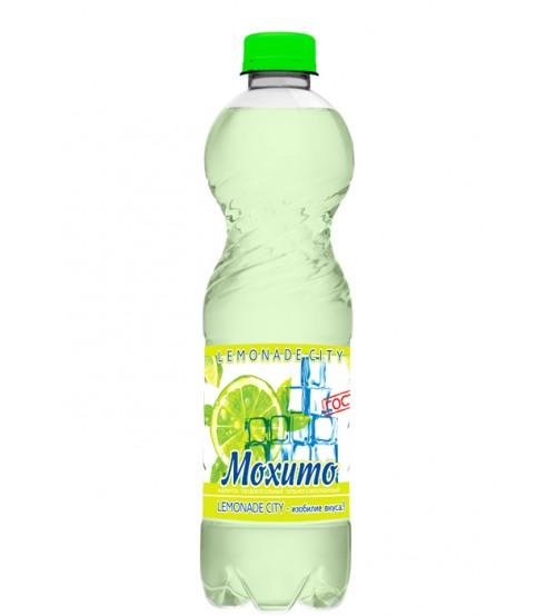 """Напиток безалкогольный сильногазированный Мохито """"Lemonade city"""", 1,5 л"""